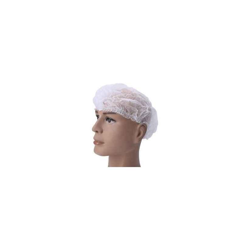 Shakuntla Disposable Non Woven Bouffant Surgical Head Cap (Pack of 100)