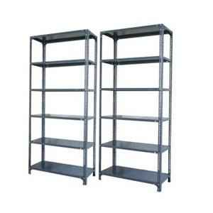 Steel Slotted Angle Rack, Dimensions: 60x36x18 inch