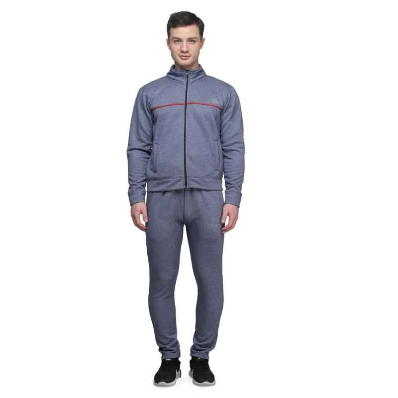 Abloom 143 Grey & Red Tracksuit, Size: L