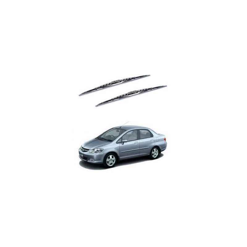 Hella WB-BK-044 Premium Black Wiper Blade Set For Honda City (Type 2)