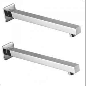 Sanitate 18 Inch Square Shower Arm (Pack of 2)