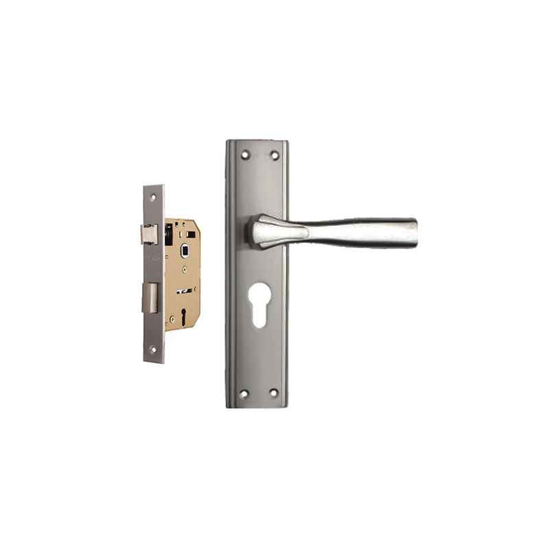 Plaza Spark 65mm Mortice Lock with Stainless Steel Handle & 3 Keys