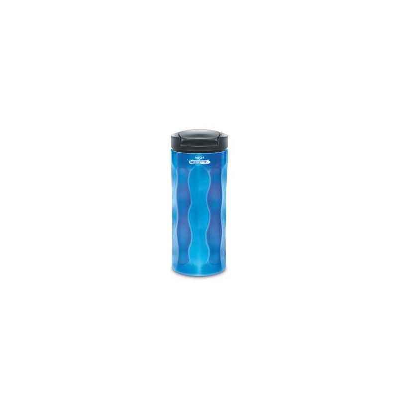 Milton Thermosteel Elegant 400ml Blue Water Bottle, M1115-MTEBL-40