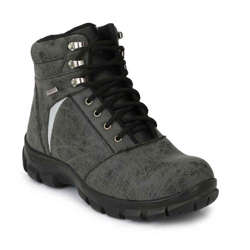 Timberwood TW21 Grey Steel Toe Safety Boot, Size: 9