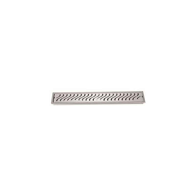 Kamal 24 Inch Stainless Steel Side Hole Shower Drainer, GRT-1493
