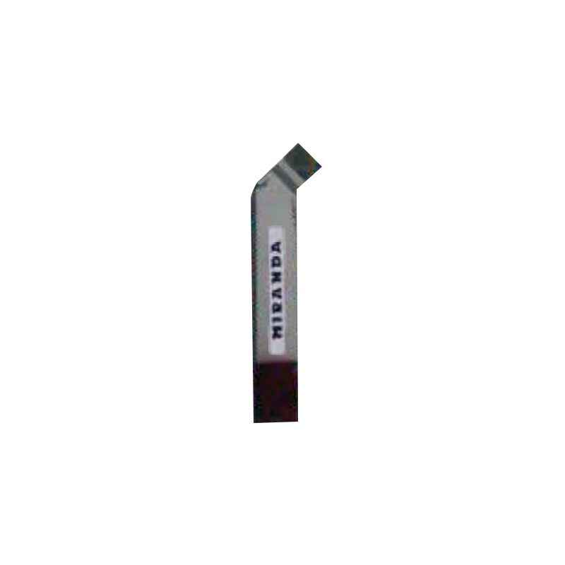 Miranda 16x10mm K20 Right Hand Tungsten Carbide Tipped Cranked Turning & Facing Tool, 1221RC, Length: 110mm