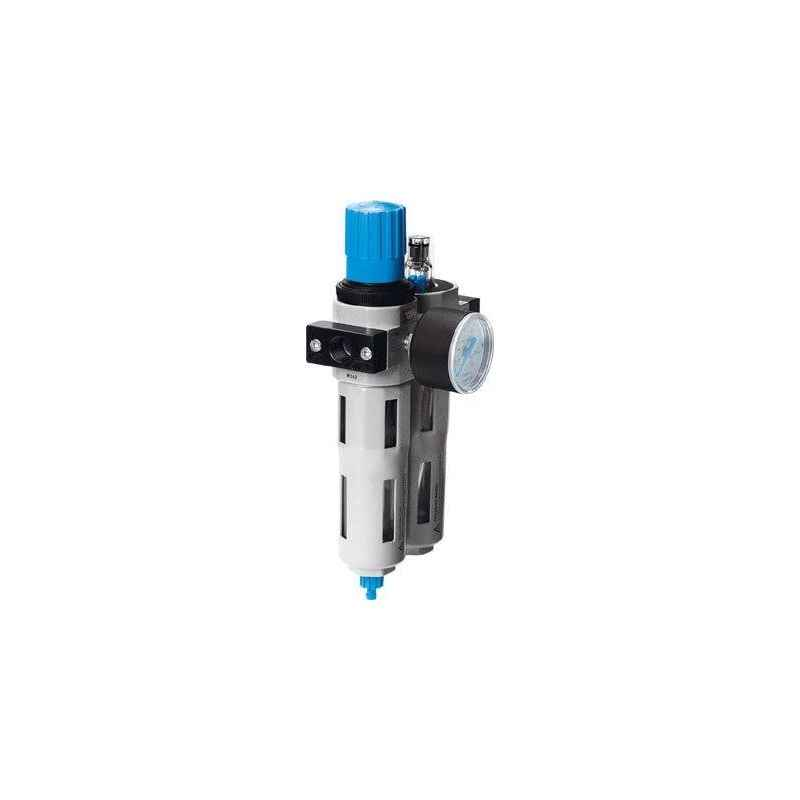 Festo FRC-1/4-D-MINI FRC Unit with Pressure Gauge, 159605