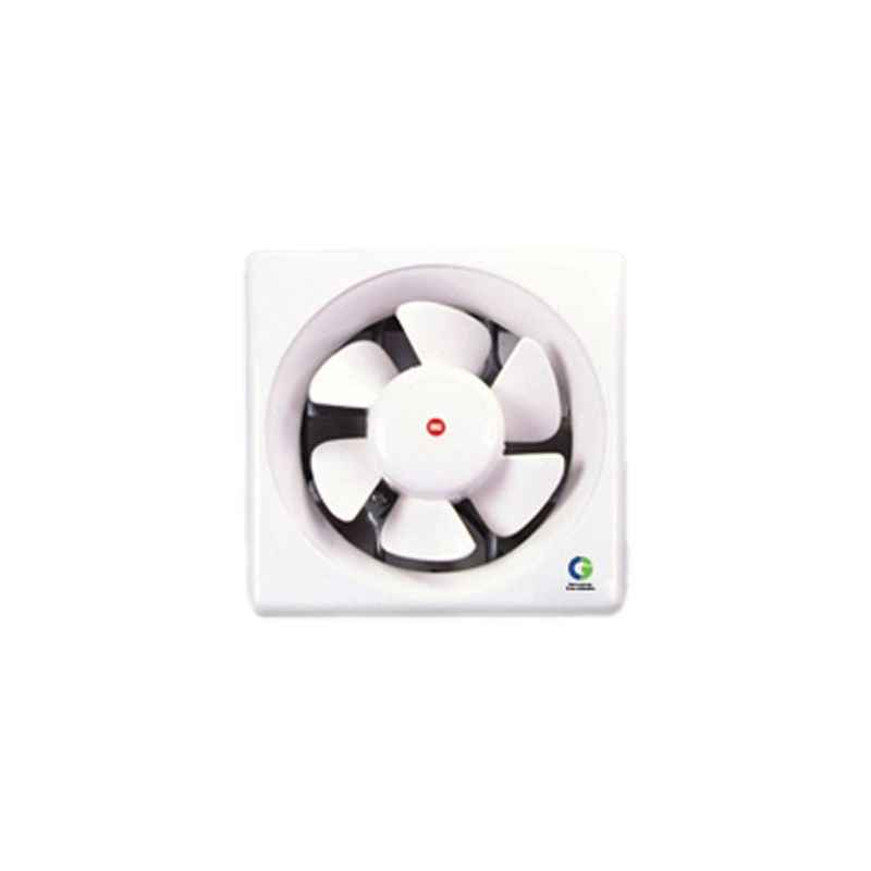 Crompton Greaves Brisk Air Plastic Ventilation Fans White Sweep, 10Inch, 45W, 1250rpm