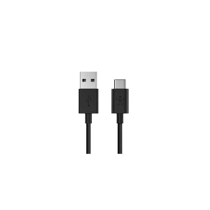Belkin 1.2m Black USB-A to Type-C USB Cable, F2CU032BT06-BLK