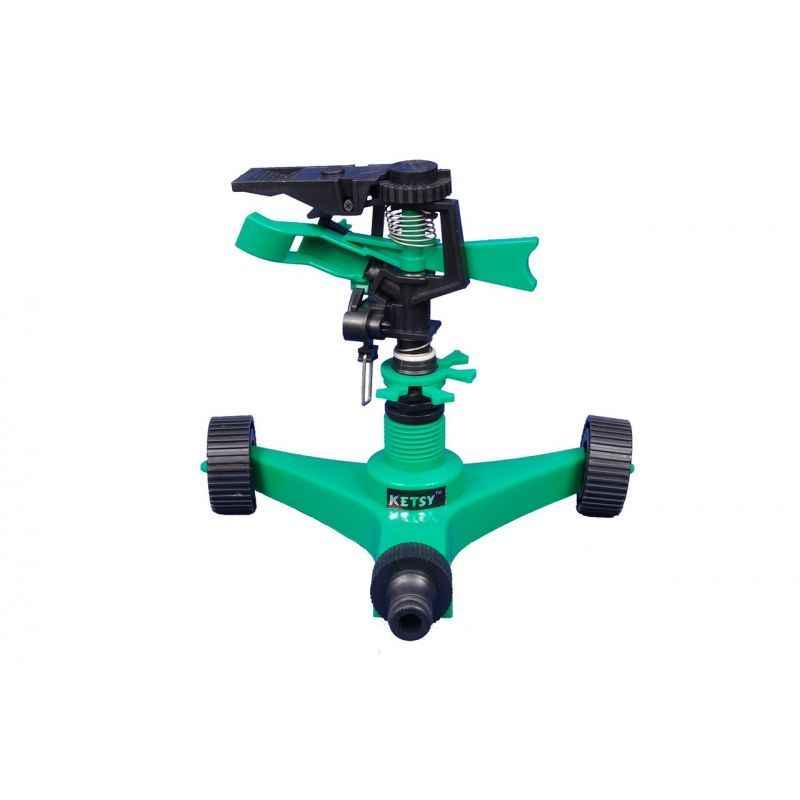 Ketsy 804 Wheelwala Sprinkler, Length: 160 mm