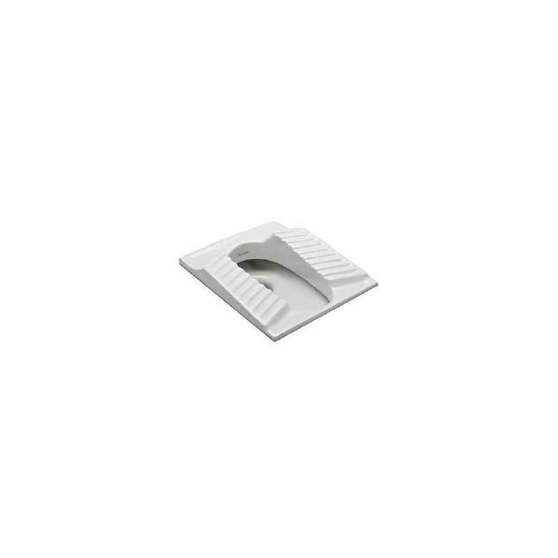 Parryware Asian Squatting Pan, C0123, Colour: White