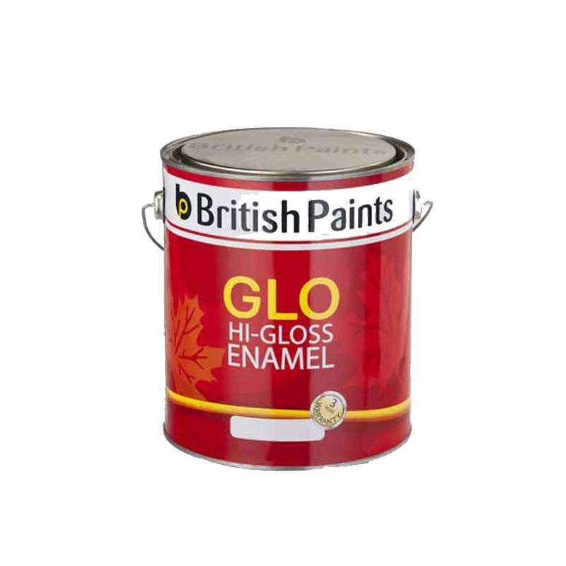 British Paints 500ml Aquamarine Glo Hi-Gloss Synthetic Enamel, GR-IV