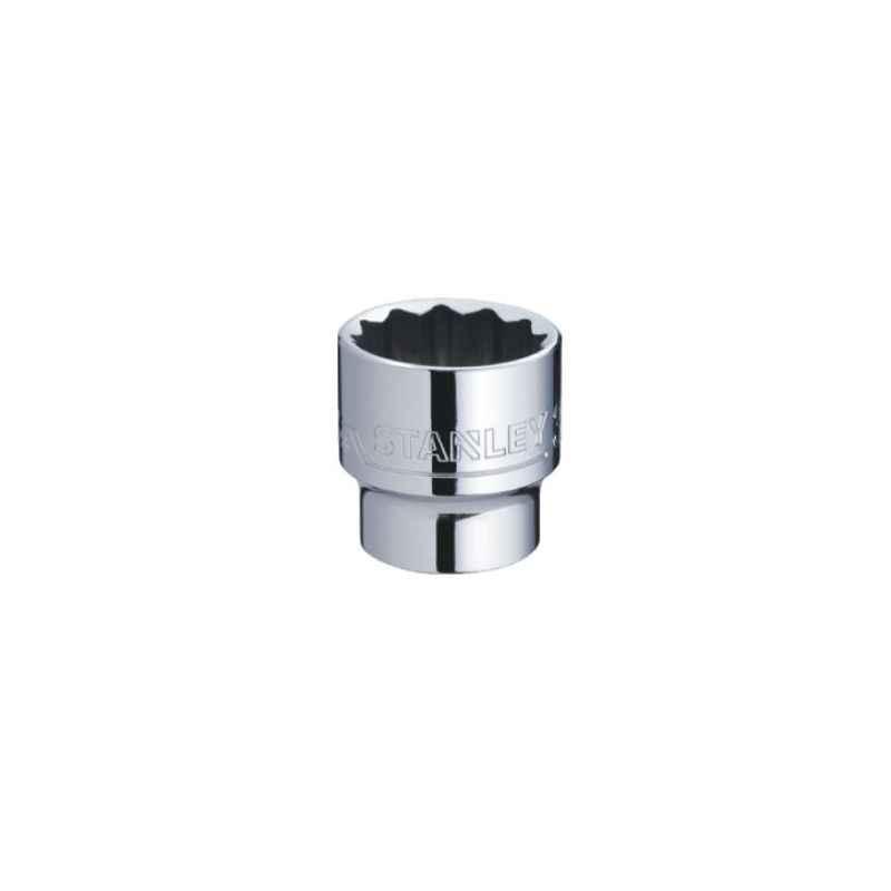 Stanley 3/4 Inch 12 PT Standard Socket, 36mm, STMT89636-8B-12