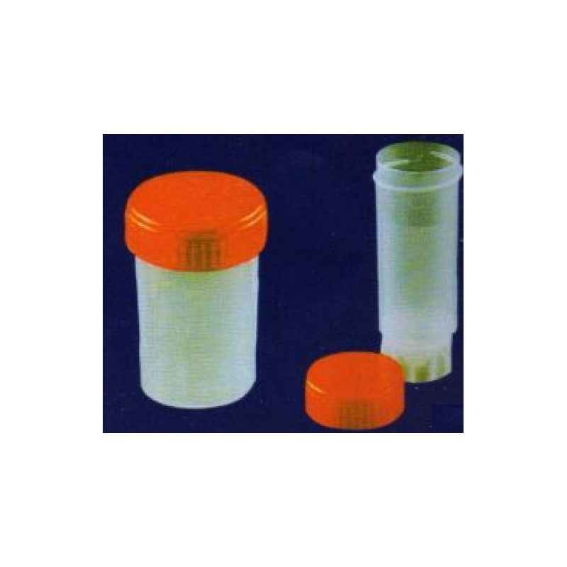 Jaico 60ml Urine Containers, 902 (Pack of 100)