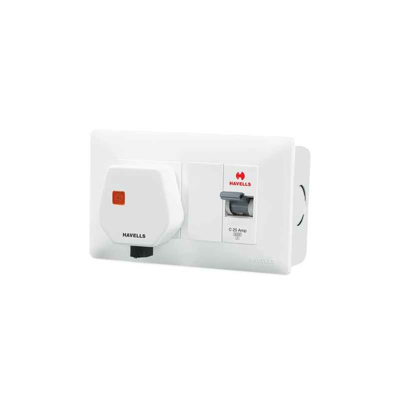 Havells DBOXx SP MCB Protected Socket (With Sheet Steel Enclosure)-DHDMCSN0251025