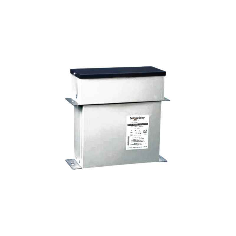 Schneider 37.7kVAr 525V Rectangular Detuned Filter Application Capacitor, MEHVBHDY377A52