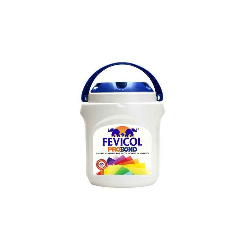 Fevicol Probond 5kg Special Adhesive For PVC & Acrylic Laminates (Pack of 4)