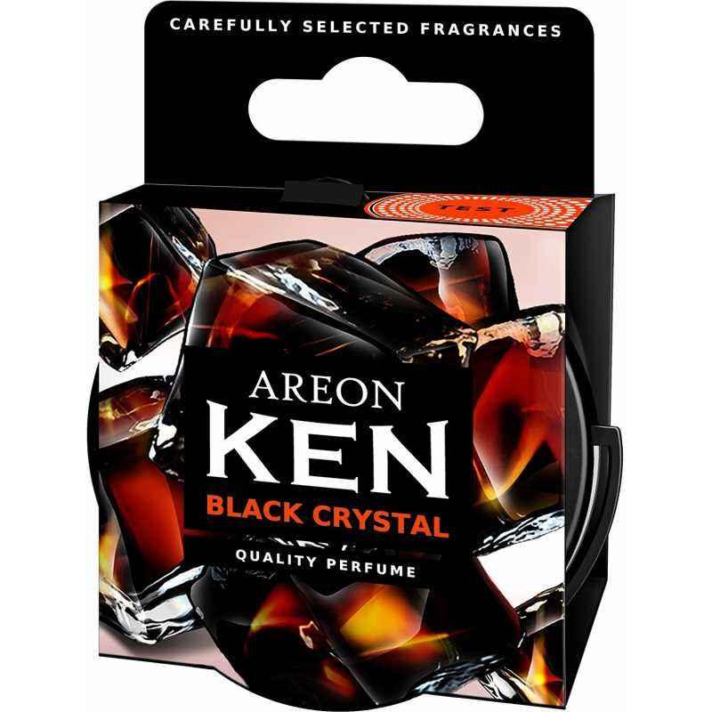 Areon 35g Ken Black Crystal Car Air Freshener, AK05