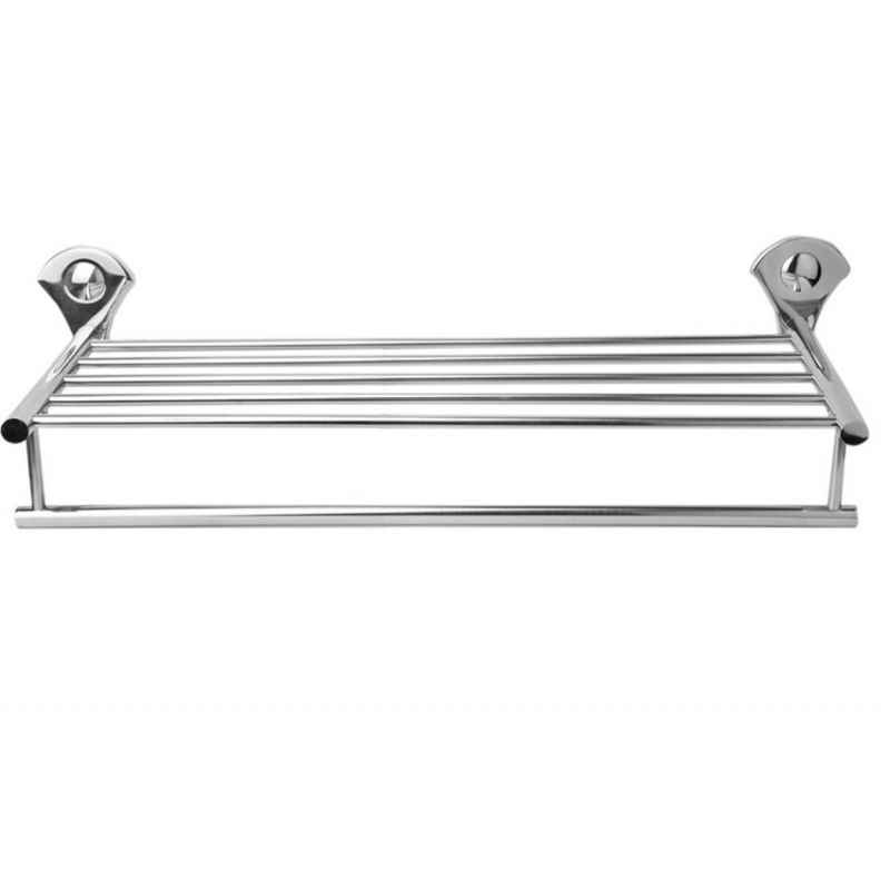 Abyss ABDY-1156 24 Inch Glossy Finish Stainless Steel Bathroom Towel Rack
