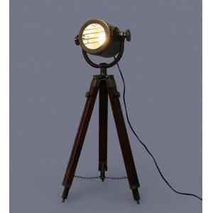 The Brighter Side Antique Marine Tripod Lamp