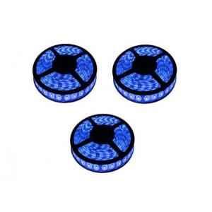 VRCT 3W Blue LED Strip Lights with Adaptor, DL-613 (Pack of 3)