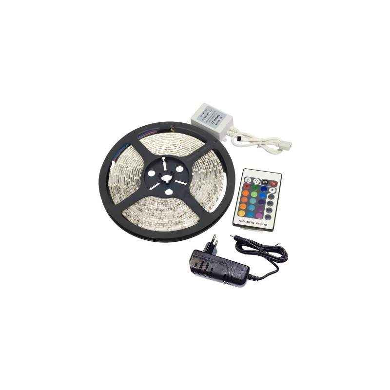 VRCT 3W Decorative Remote RGB Wall LED Strip Light, DL-589