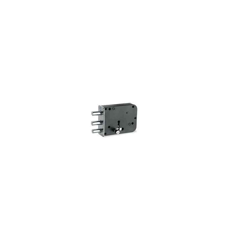 Smart Shophar Puse Bullet 2.5 Inch Door Lock with Latch, 54506-DLBL-2.5