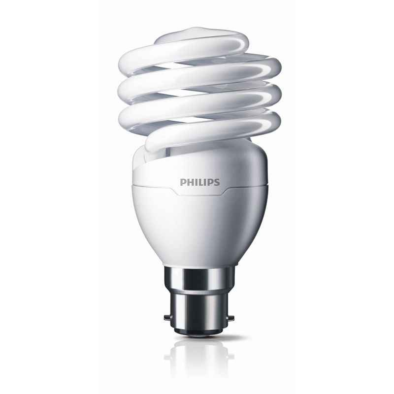 Philips Tornado 15W B22 Cool Daylight CFL (Pack of 5)