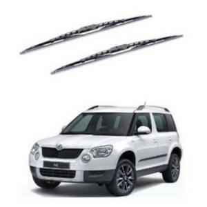 Hella WB-BK-132 Premium Black Wiper Blade Set For Skoda Yeti