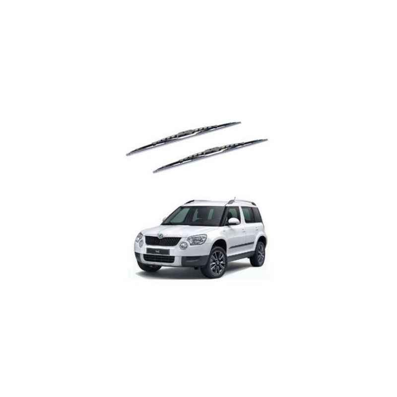 Hella WB-BK-132 Premium Black Wiper Blade Set For Skoda Yeti