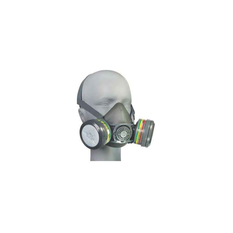 Venus Combo of Venus V-800-7800-ABEK1-P2R Grey Medium Dual Filter Half Mask Respirator