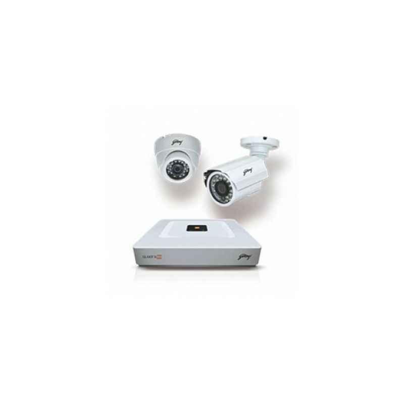 Godrej Seethru HD Surveillance CCTV Camera Kit, SEHCCTV0100