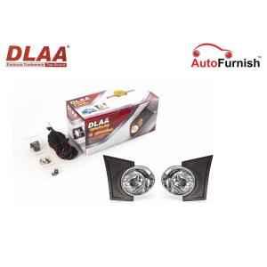 Dlaa Fog Light Lamp Set with Bulb For Chevrolet Beat (2011-15)