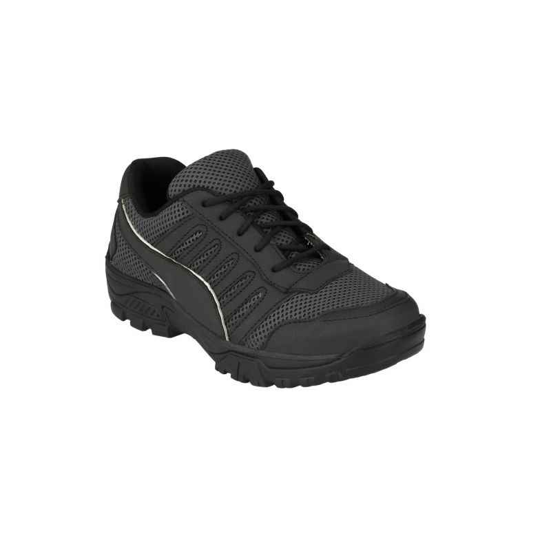 Eego Italy Z-WW-16 Steel Toe Black Safety Shoes, Size: 9