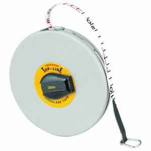 Freemans 30 Meter Fibreglass Top Line Measuring Tape, FT30