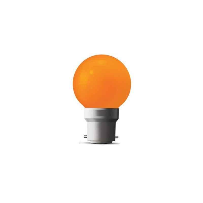 Halonix Astron-II 0.5W B-22D Orange LED Night Bulb