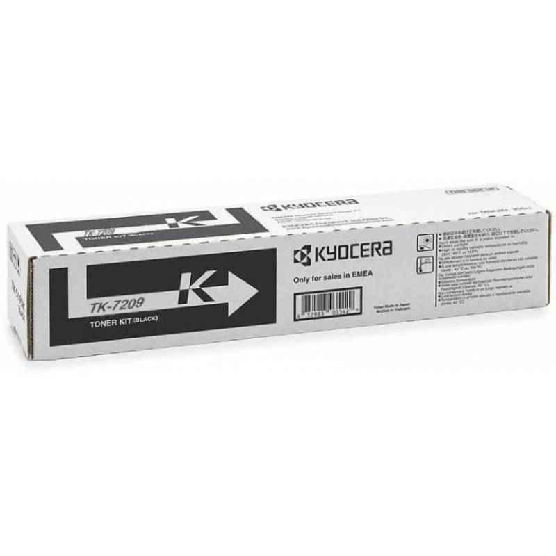 Kyocera TK 7209 Black Genuine Toner Cartridge for TA-3510i