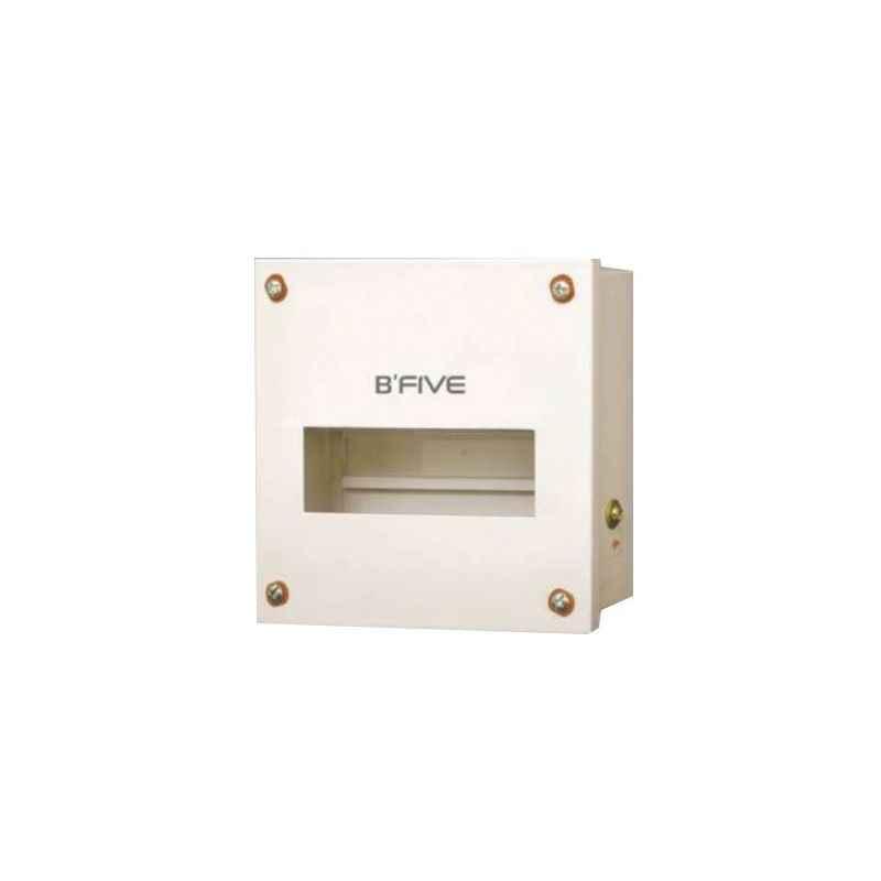 B-Five 4 Way Single Door MCB Distribution Box, B-155