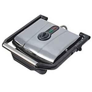Skyline VTL 999 SS Silver 4 Slice Griller Sandwich Maker