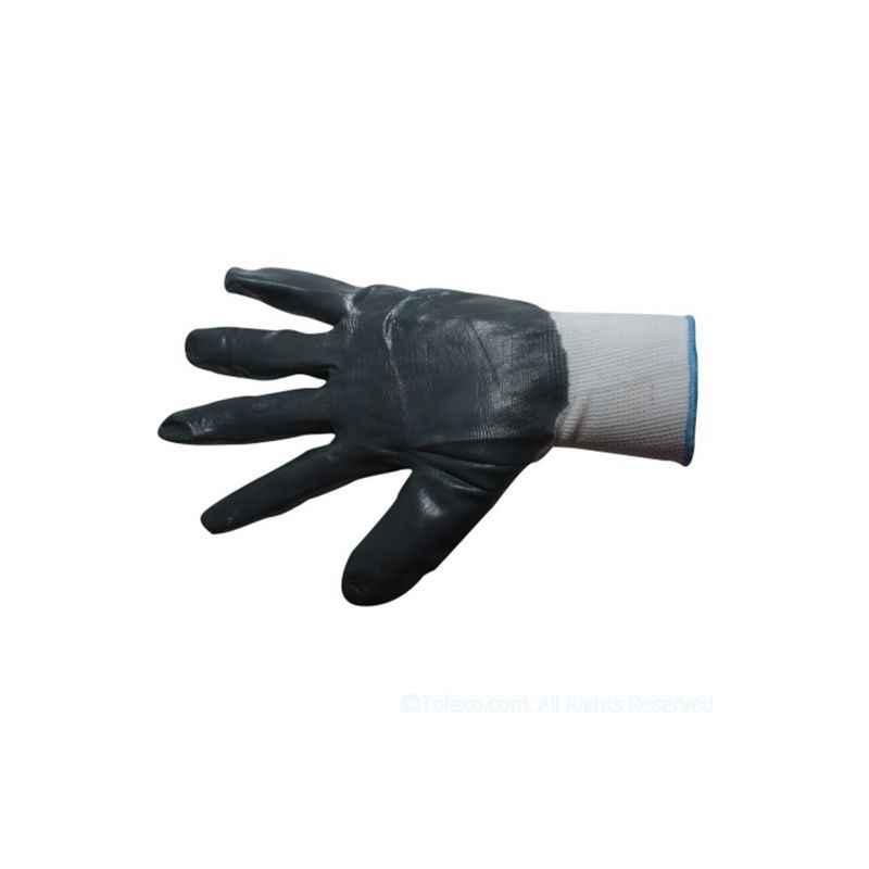 Siddhivinayak Anti Cut Nitrile Coated Hand Gloves (Pack of 12)