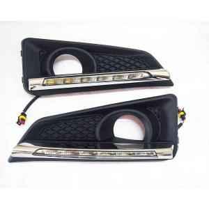 Autogold Fog Lamp Assembly DRL LED for Honda City iDTEC, AG428