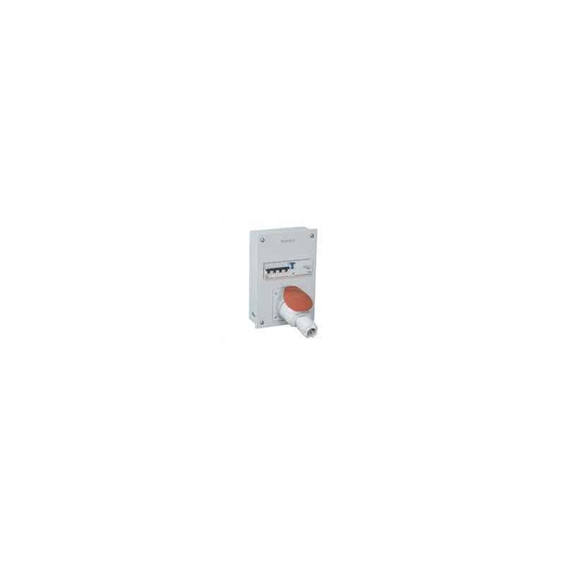 Legrand Ekinox³ 32A 3P+N+E-FP 8 Module P-17 Tempra plug & Socket Distribution Board, 5078 62
