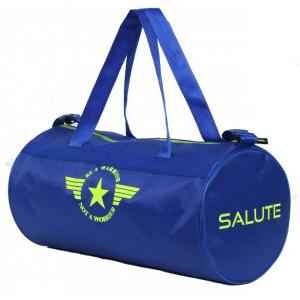 Salute Basic New 30 Litre Blue Polyester Duffel Bag