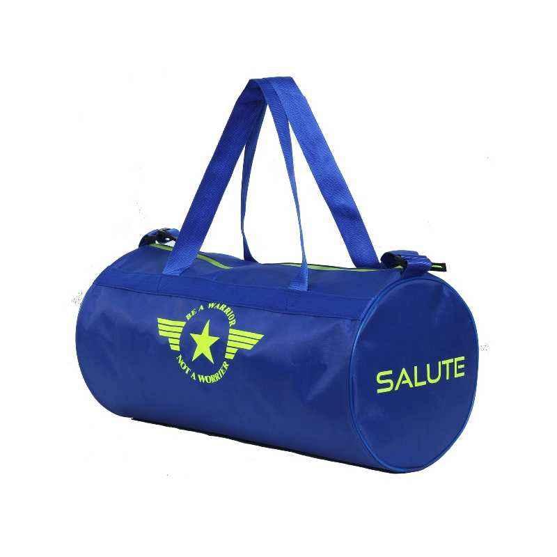 Salute Basic New 30 Litre Blue Polyester Duffel Bag