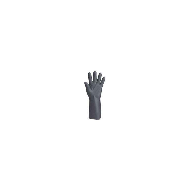 Atlas Neoprene Black Hand Gloves, SHELLFISH/CHA-001-K (Pack of 10)