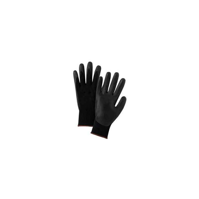 Atlas Black Nylon Safety Gloves (Pack of 100)