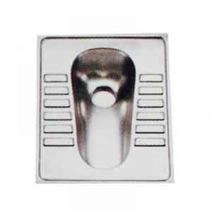 Jayna Neptune LP 03 Matt Lavatory Pan Without Flushing, Size: 585 x 480 mm