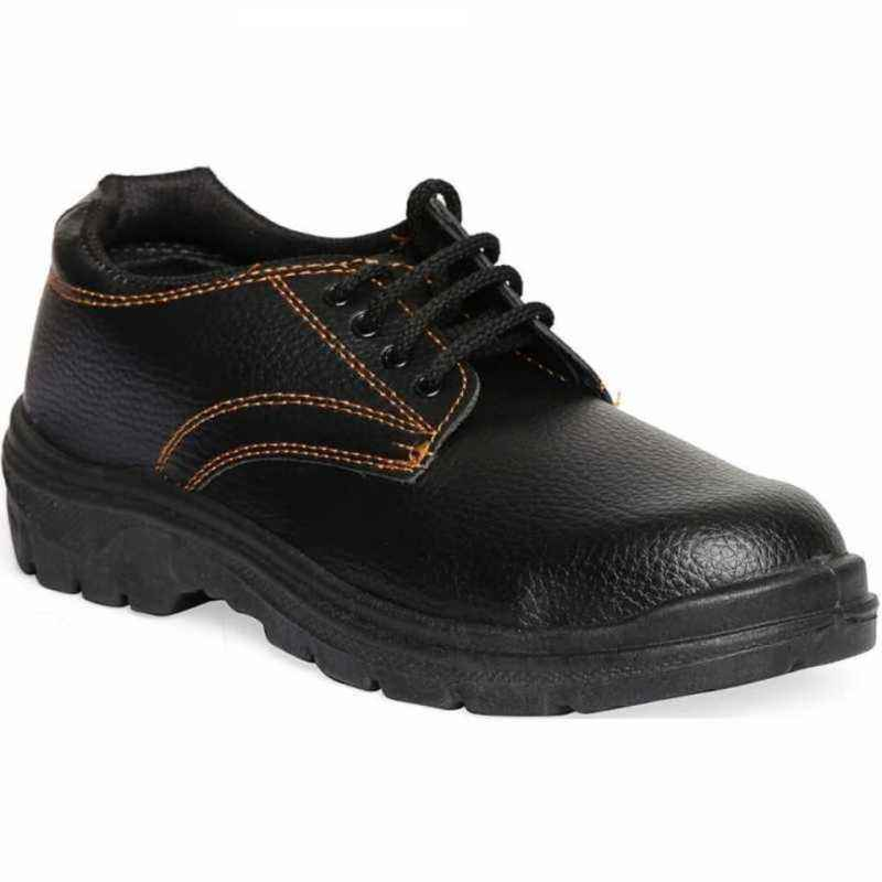 Timberwood Max 100 Steel Toe Black Safety Shoes, Size: 9