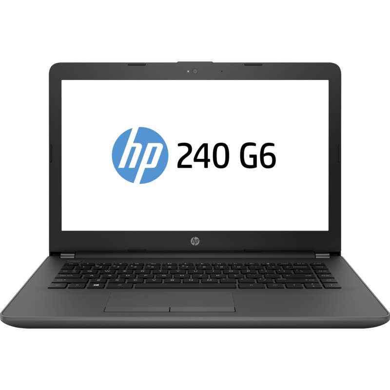 HP 2VY24PA 4GB DDR4/1TB/Core i3 6006U/DOS/14 Inch Black Laptop, HP 240 G6