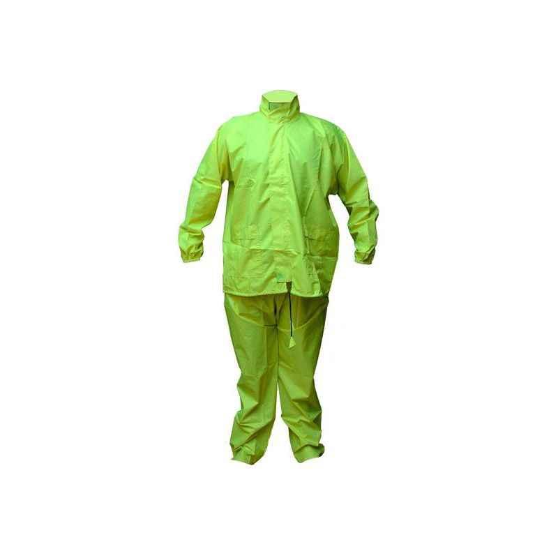 Safies Free Size Flouro Green Raincoat